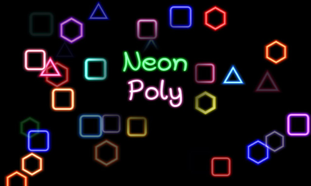 Neon Poly game